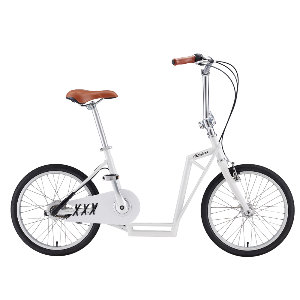 Sliders | 城市自行車Avenue Lite 滑板小徑車(白色)周年慶55折後再送工具組