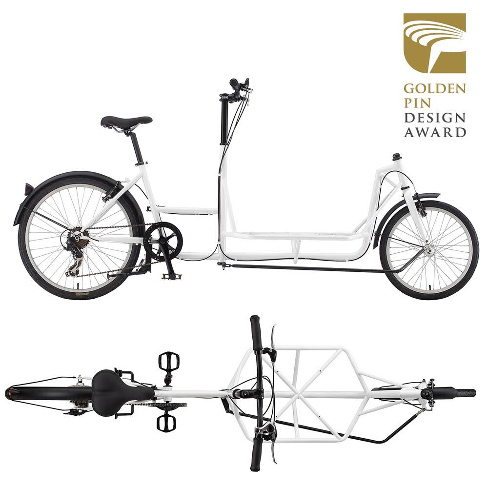 Sliders|PickUP!電動皮卡載貨自行車(金點最佳設計)