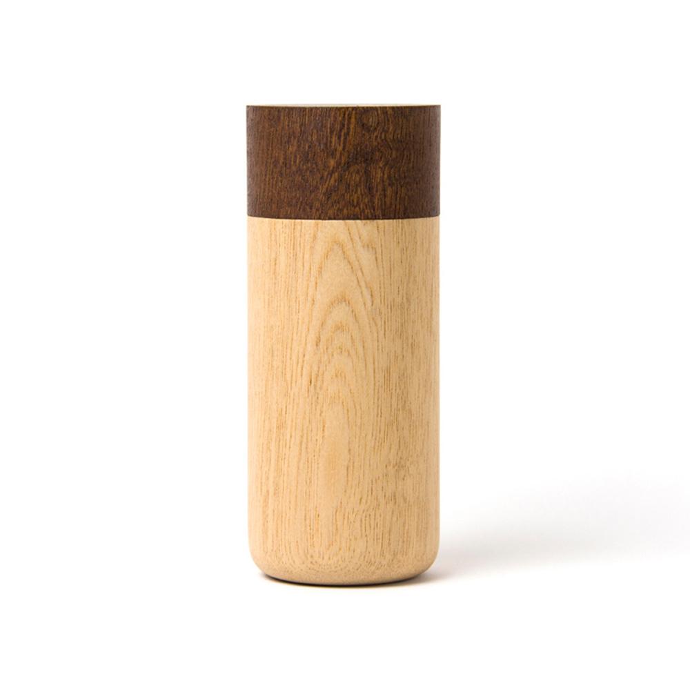 畑漆器店 HATASHIKKITEN 密封罐 TUTU L(咖啡色)