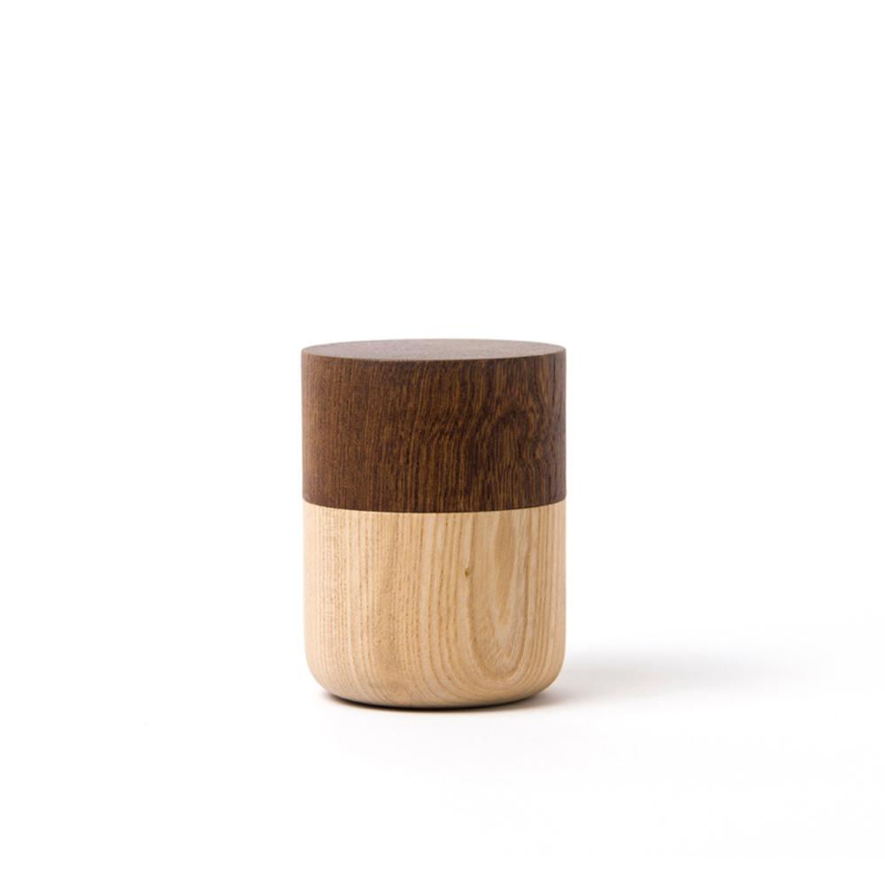 畑漆器店 HATASHIKKITEN|密封罐 TUTU S(咖啡色)