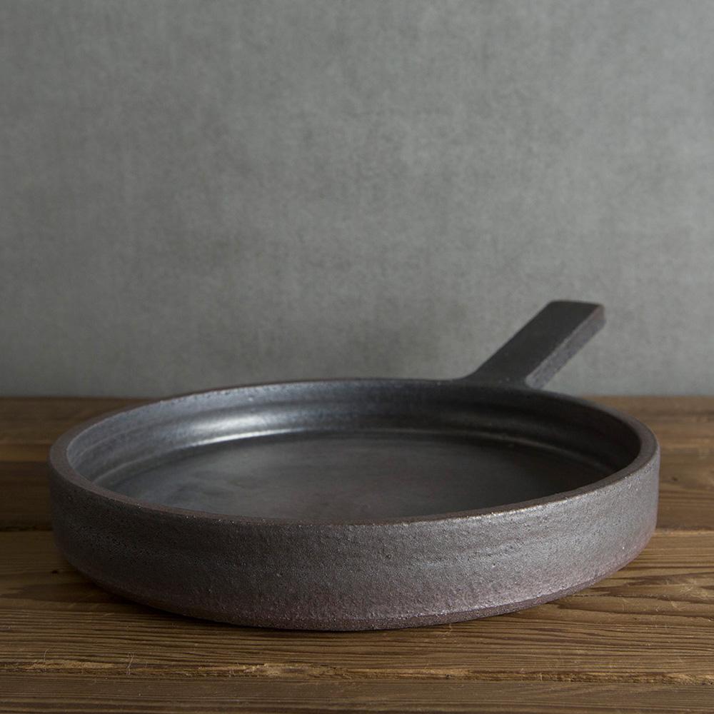 清岡幸道KIYOOKA KOUDOU|信楽燒 爐烤烹飪陶鍋 L