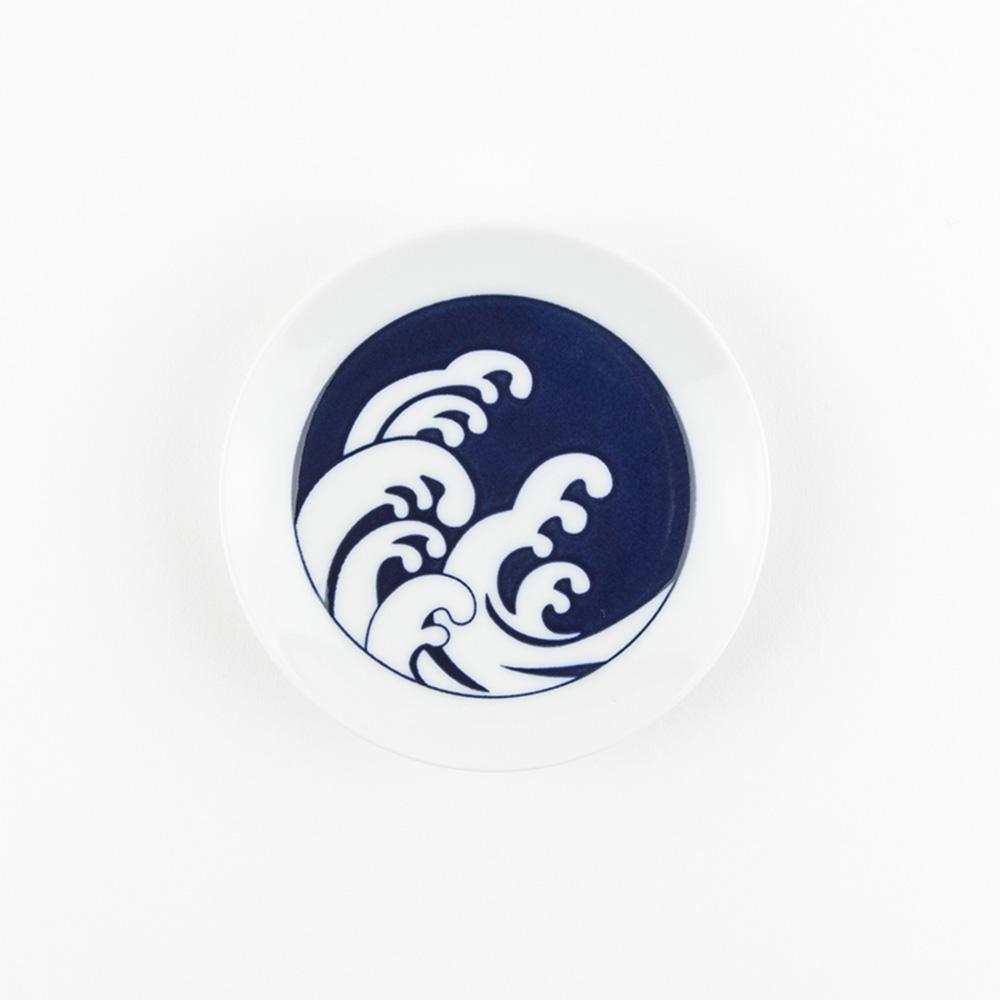 KIHARA 豆皿-麿紋波