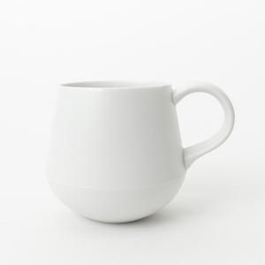 KIHARA|咖啡杯-白素磁釉
