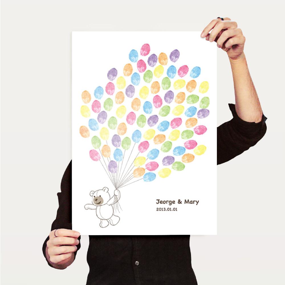 Tequila|原創設計海報A3直立-簽名樹Honey Bear