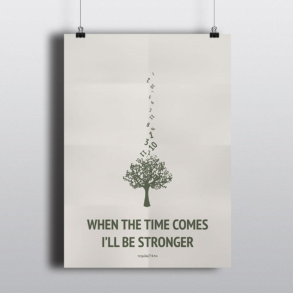 Tequila|原創設計海報4開直立-Tree