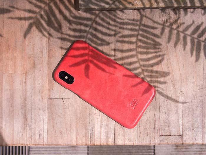(複製)Alto|iPhone 8 / iPhone 7 真皮手機殼背蓋,Metro(黑色/萊姆綠)