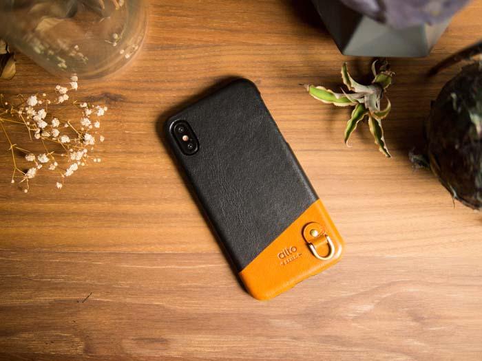(複製)Alto iPhone X 皮革保護殼 Metro (萊姆綠/本色)