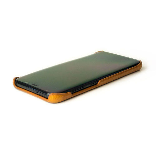 Alto|Samsung Galaxy S8+ 真皮手機殼背蓋 Original - 焦糖棕