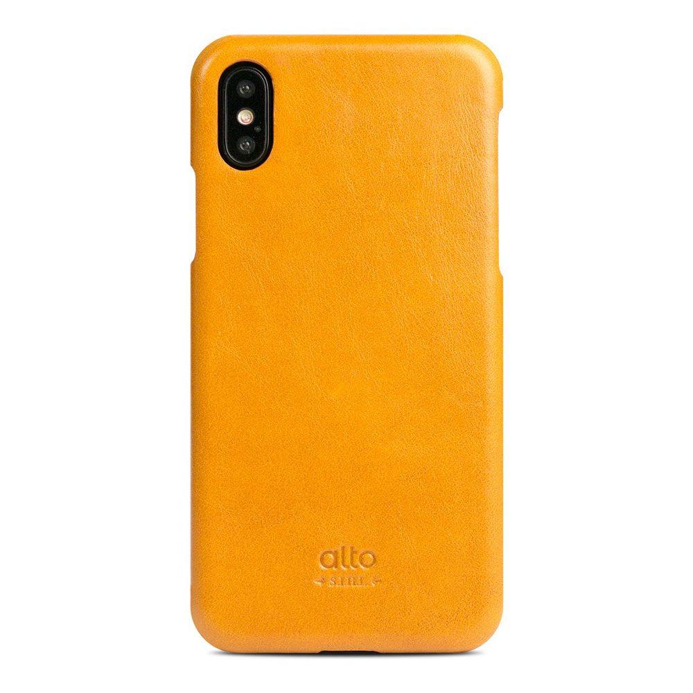 Alto iPhone X 皮革保護殼 Original (焦糖棕)