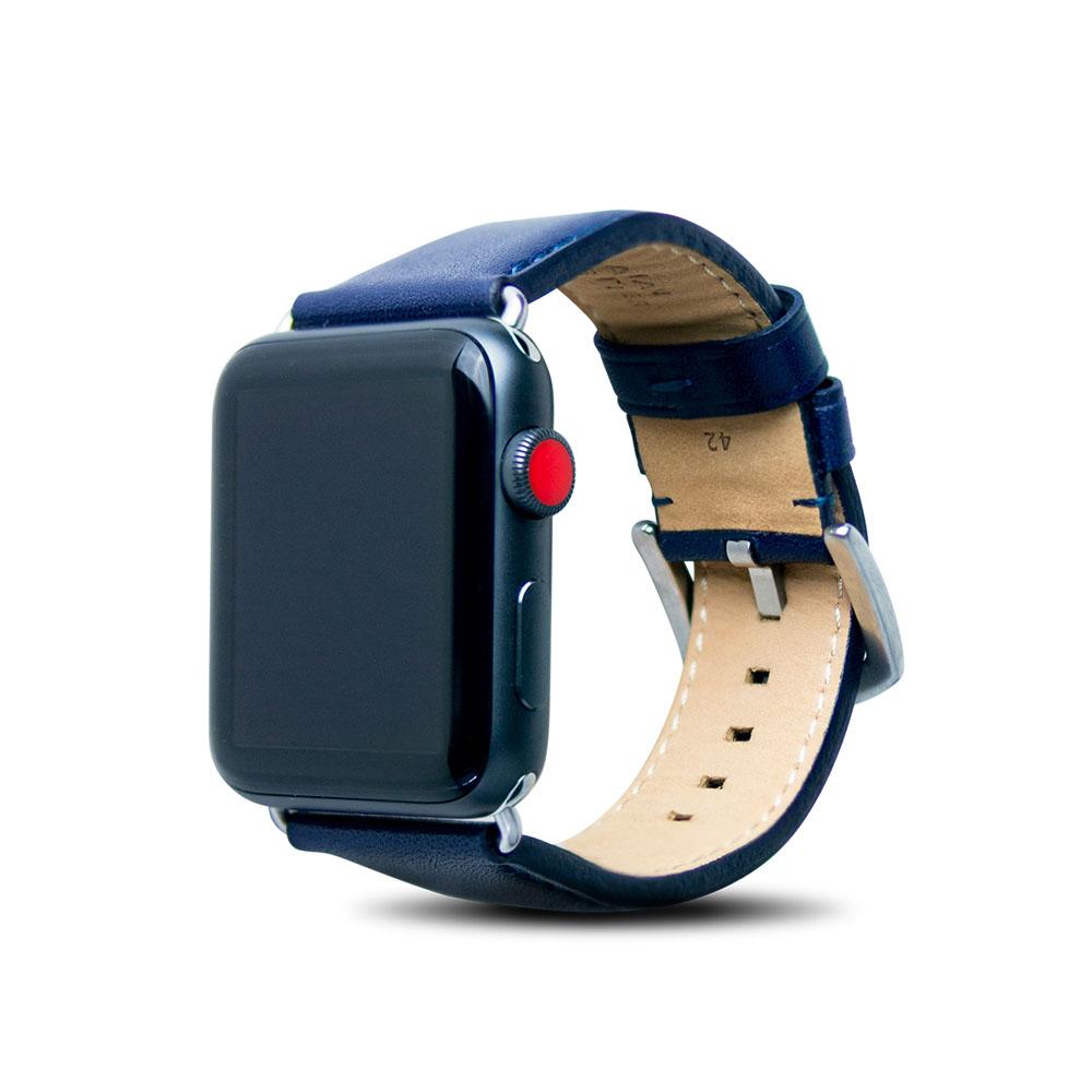 Alto|Apple Watch 皮革錶帶 42mm - 海軍藍