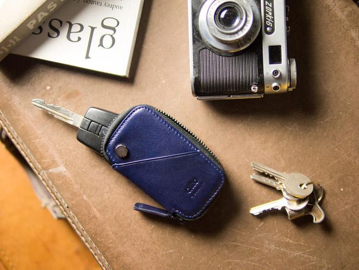 (複製)Alto|鑰匙收納包 Key Pouch (渡鴉黑)