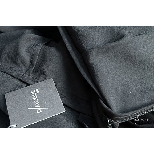 DIALOGUE|平織洋裝-若巧