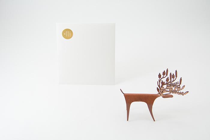(複製)PLEASANT 櫻花快鹿禮卡 Deer Card Blossom(粉紅)