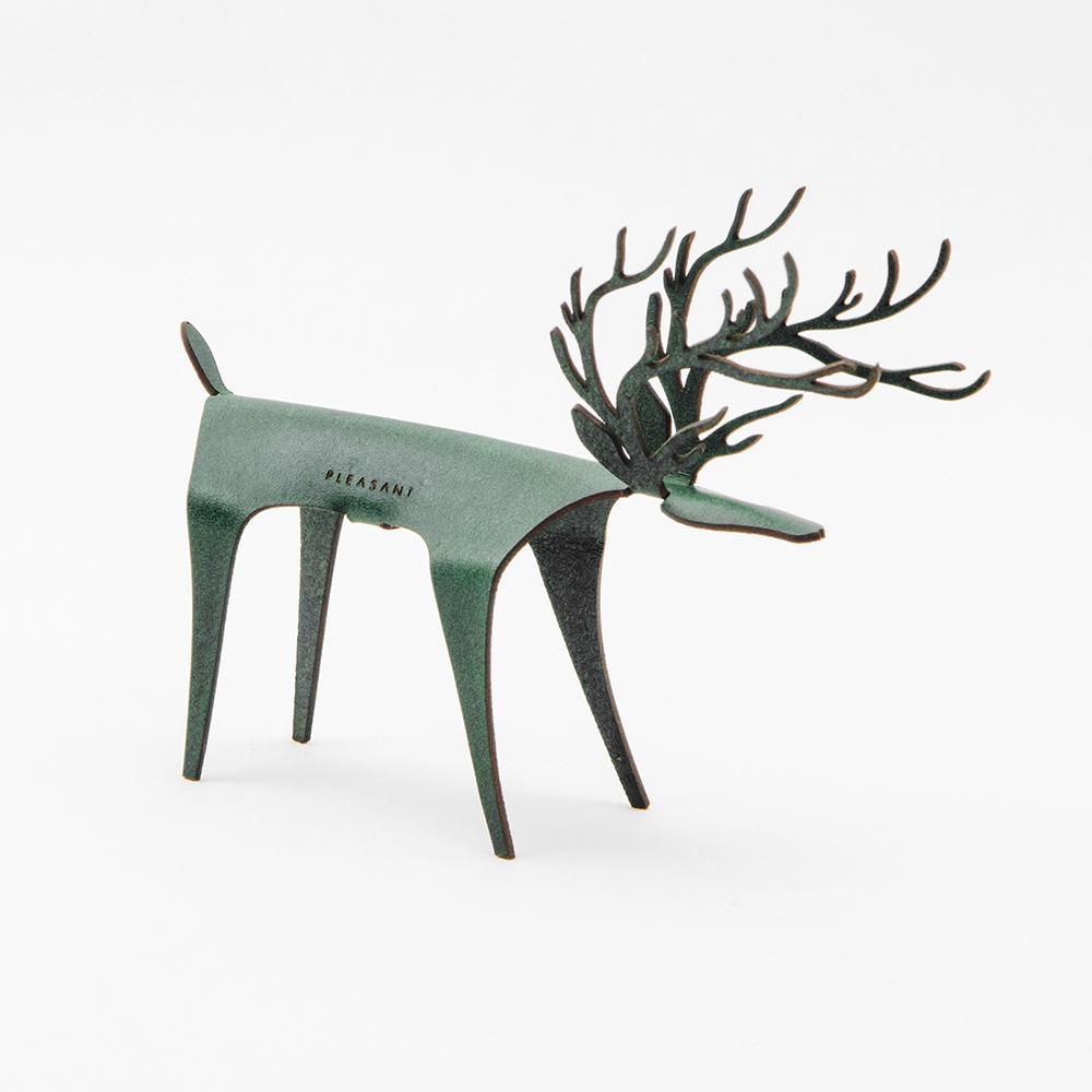PLEASANT|經典快鹿禮卡 - 彩色版 Deer Card Classic - Color(綠色)
