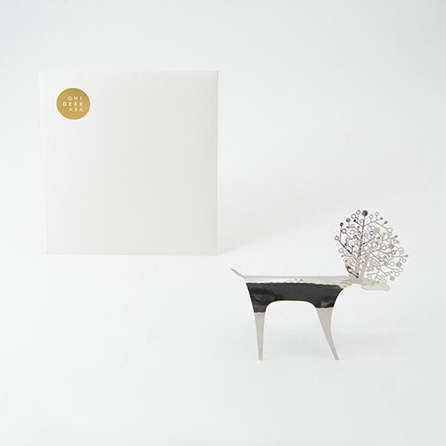PLEASANT|不鏽鋼快鹿禮卡 Deer Card Stainless Steel