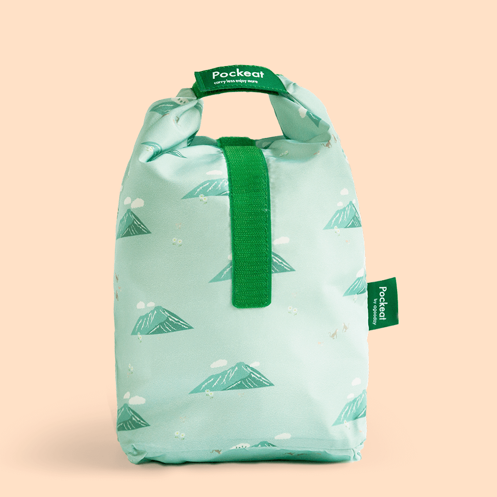 好日子   Pockeat環保食物袋  (大食袋) 玉山
