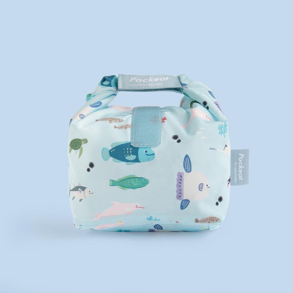 好日子   Pockeat環保食物袋  (小食袋) 我不是海鮮