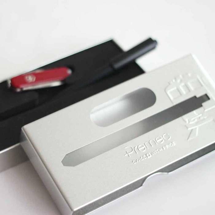 PREMEC|瑞士筆 PREMEC 瑞士經典設計限量禮盒組  世界最長鐵路隧道紀念金屬禮盒