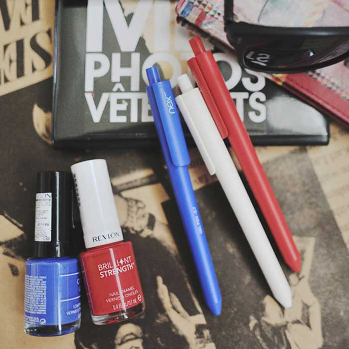 PREMEC|NEX GEL PEN 膠墨筆 藍白紅 三入組