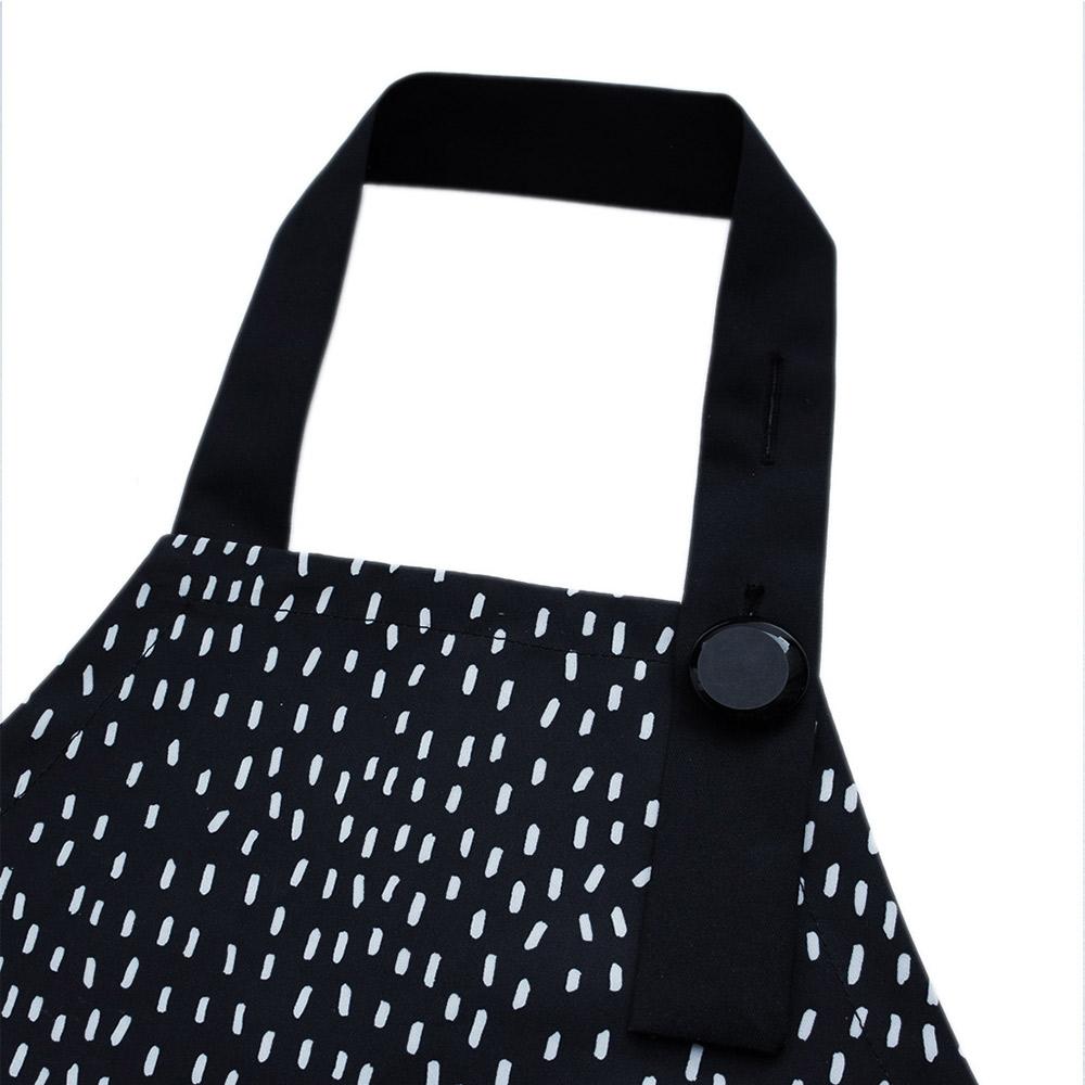 OGG 幾何趣經典寶寶工作圍裙袖套組(嗒嗒雨點)
