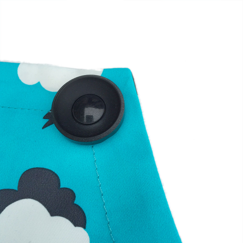 OGG|冒險趣寶寶工作圍裙袖套組(轟隆隆雲朵)