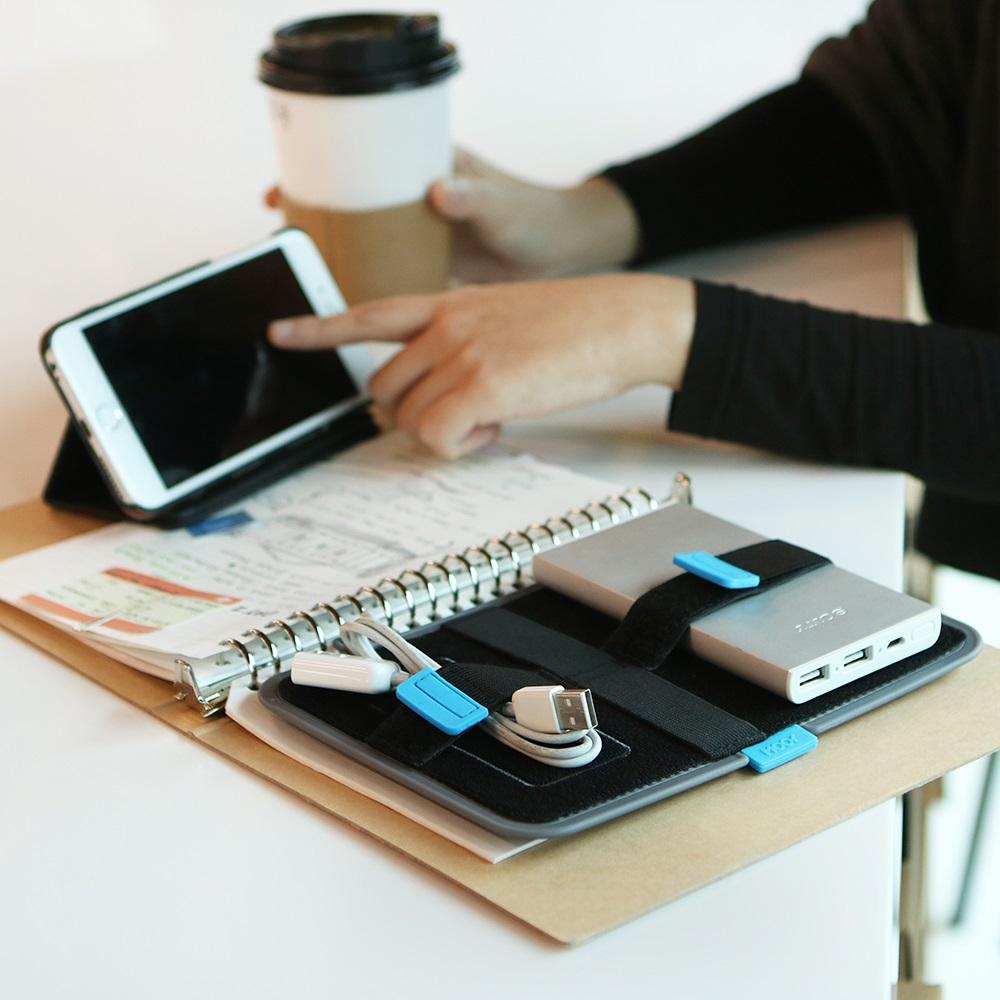 MOOY|Gekko Board 小壁虎多功能收納板-Power(手機電源專用收納)