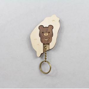 甘丹 GANDAN|Key House-台灣黑熊