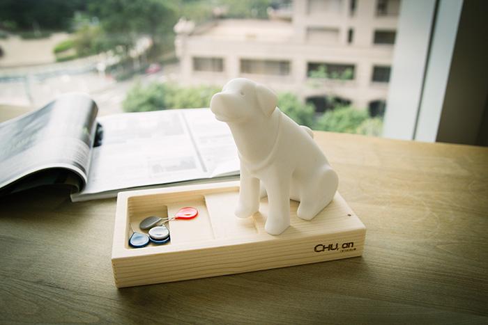 (複製)CHU,AN Design  顧家鬥牛犬-狗狗造型石雕擺飾/紙鎮