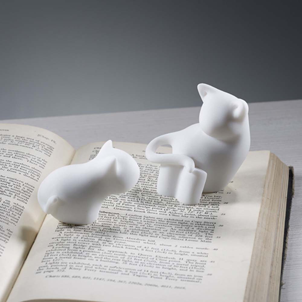 CHU,AN Design 信念-貓咪造型立體石雕紙鎮