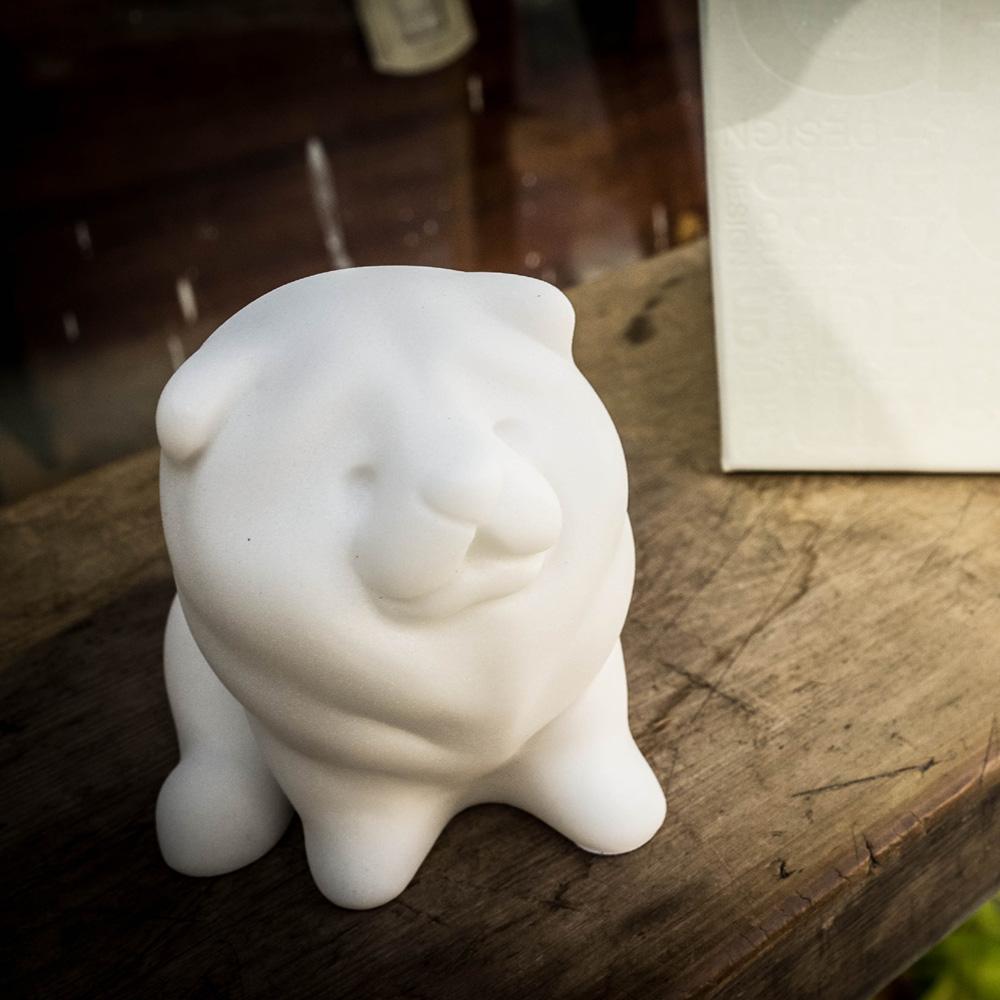 CHU,AN Design| 獨立鬆獅犬-狗狗造型石雕擺飾/紙鎮