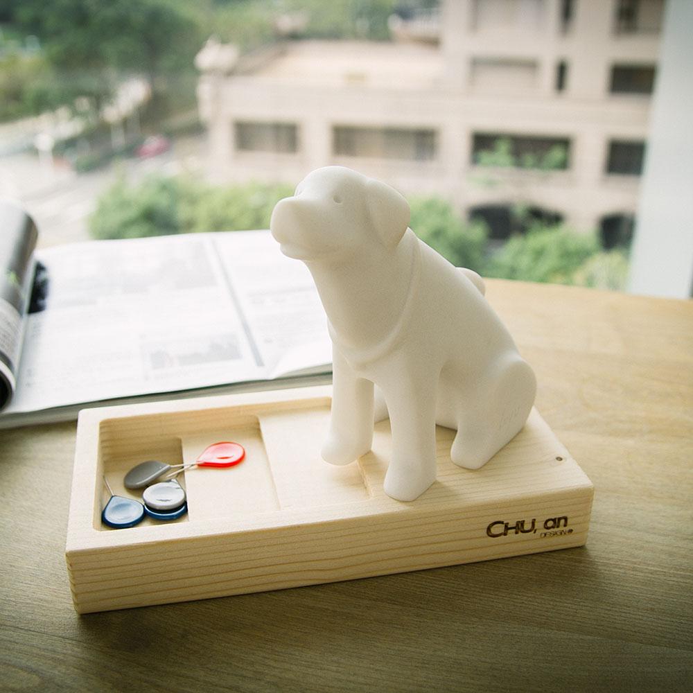 CHU,AN Design  和善拉不拉多-狗狗造型石雕擺飾/紙鎮