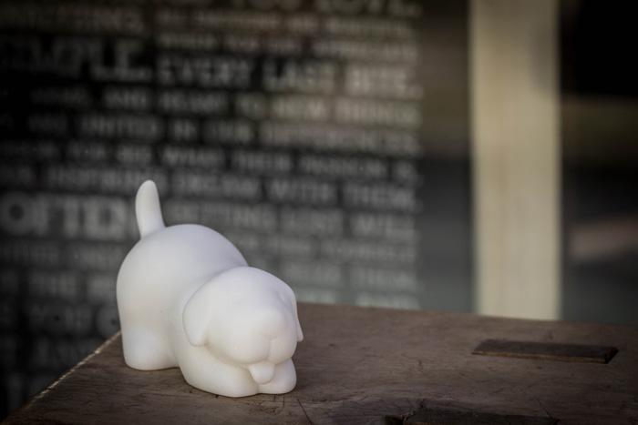 (複製)CHU,AN Design| 可愛米克斯-狗狗造型石雕擺飾/紙鎮