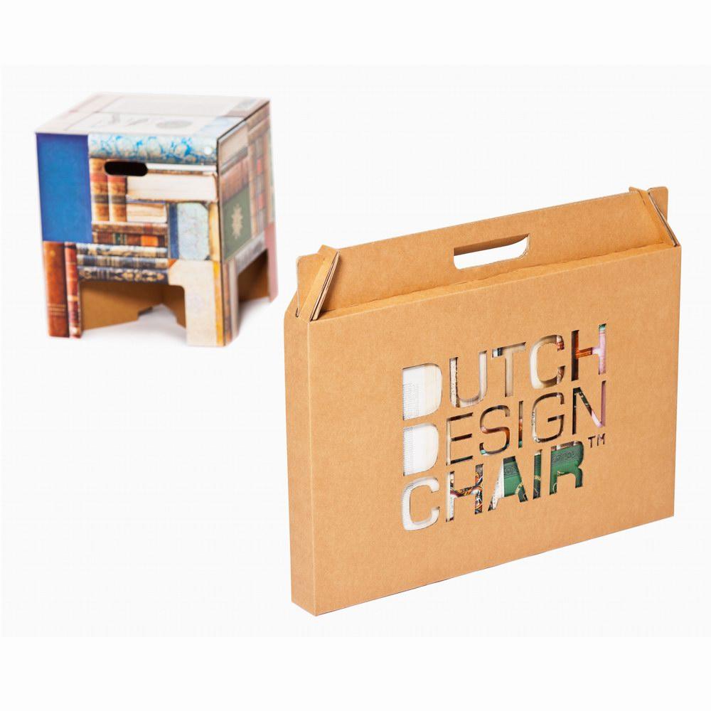 Dutch Design Chair|荷蘭紙板椅凳-圖書