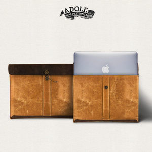 ADOLE ANTIQUE, 蠟紋布-經典MACBOOK AIR包