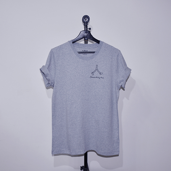 buyMood 白目叮|心上人T恤(灰色)