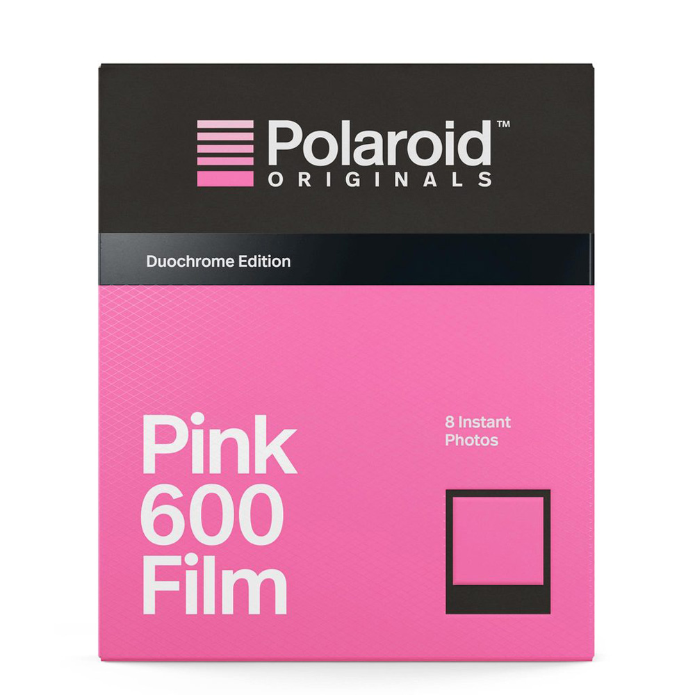 POLAROIDORIGINALS|寶麗來創新黑框粉紅黑白底片 for 600 OneStep2(公司貨)