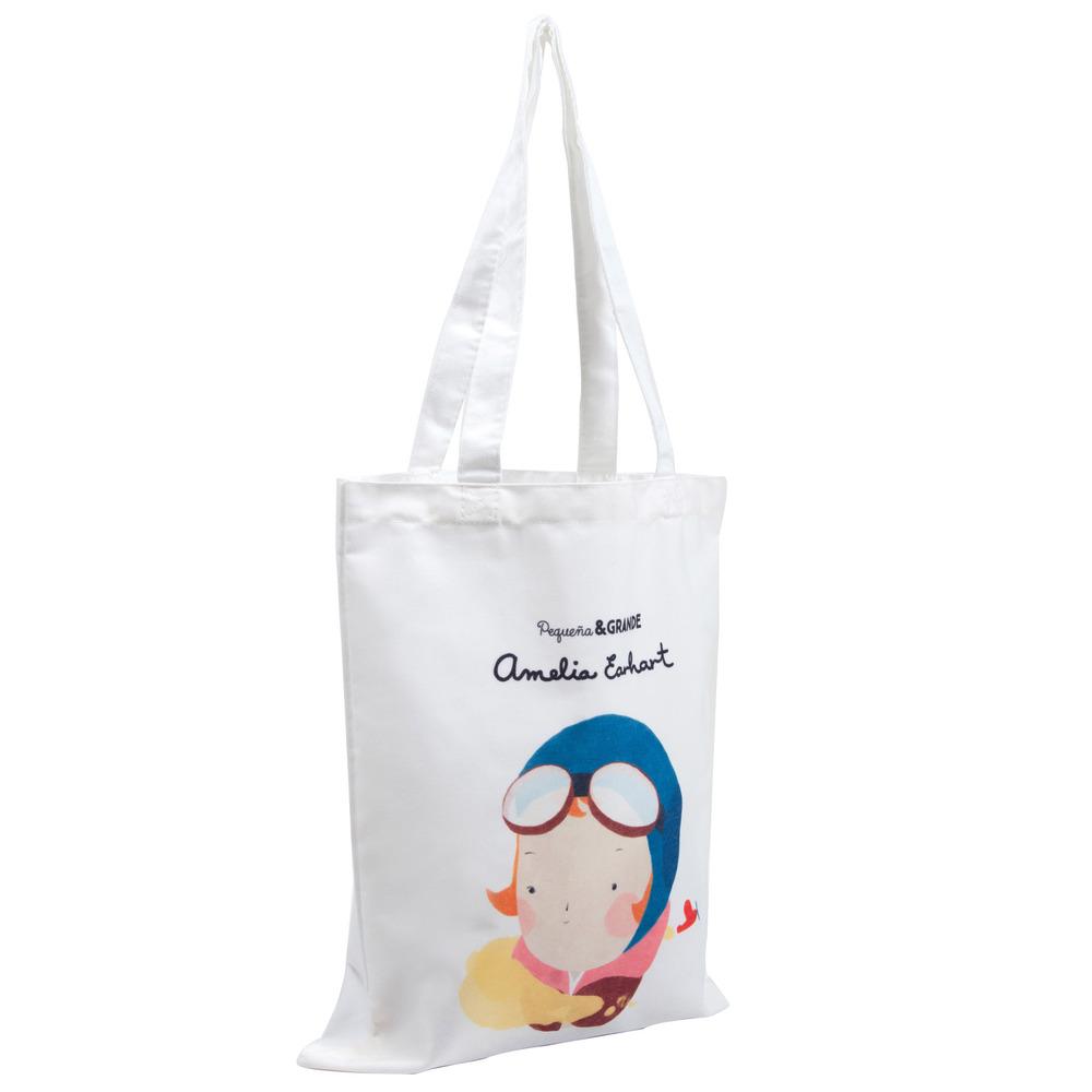 Alba Editorial │Amelia Earhart 棉質提袋【女性大人物系列】