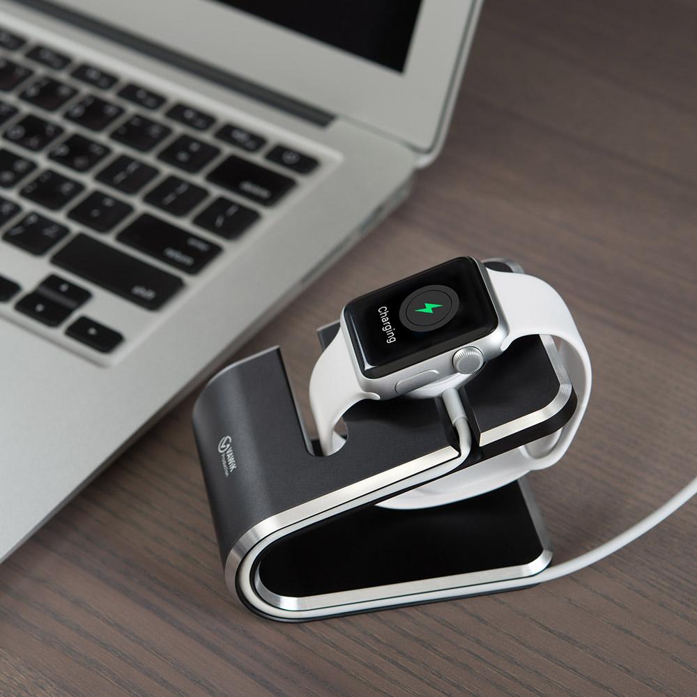 KiWAV VAWiK Apple Watch CNC鋁合金充電座