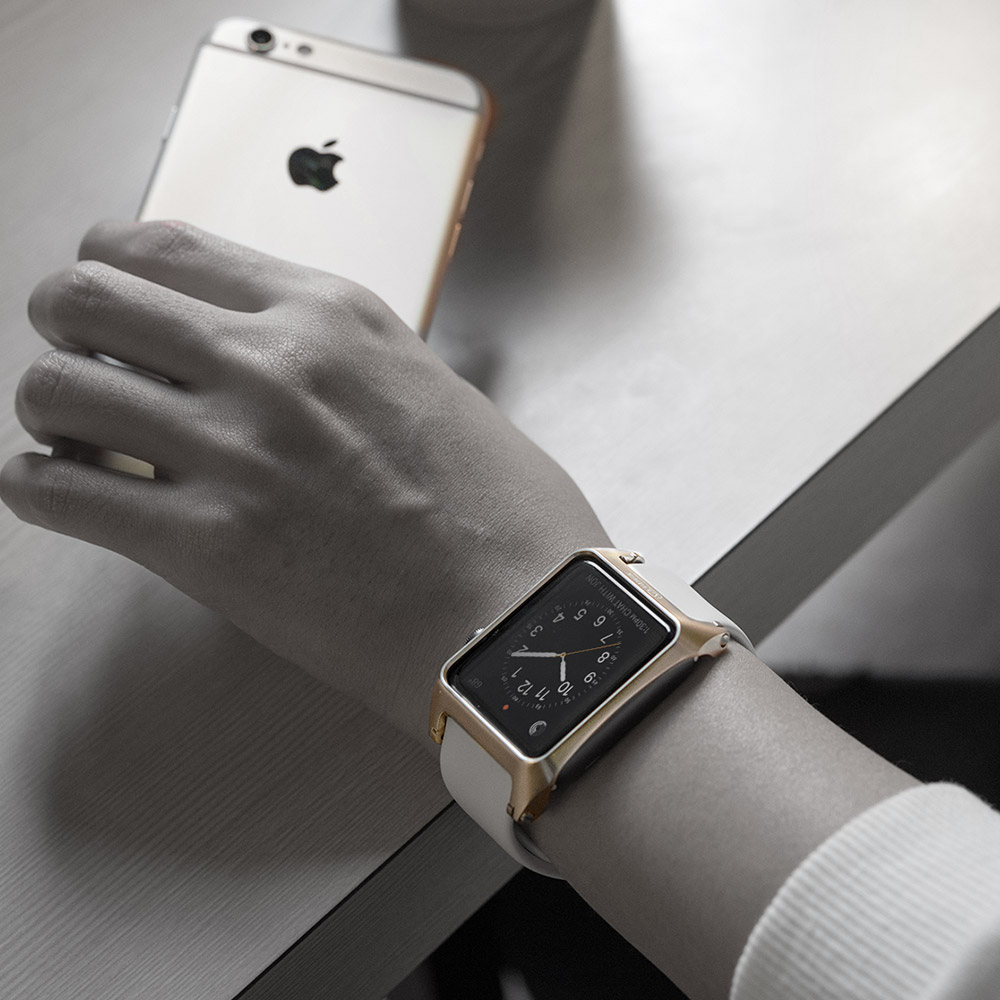 KiWAV|VAWiK 42mm Apple Watch 鋁合金保護殼