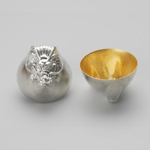 能作|金箔生肖造型杯(龍)