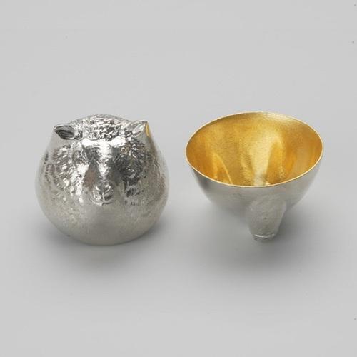 能作|金箔生肖造型杯(羊)
