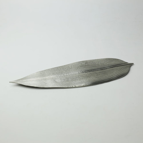 能作|純錫竹葉盤