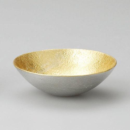 能作|純錫金箔調味盤(S)
