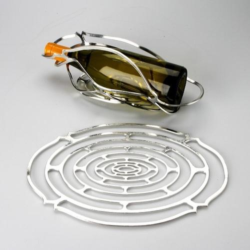 能作|純錫魔術置物籃(橢圓 L)