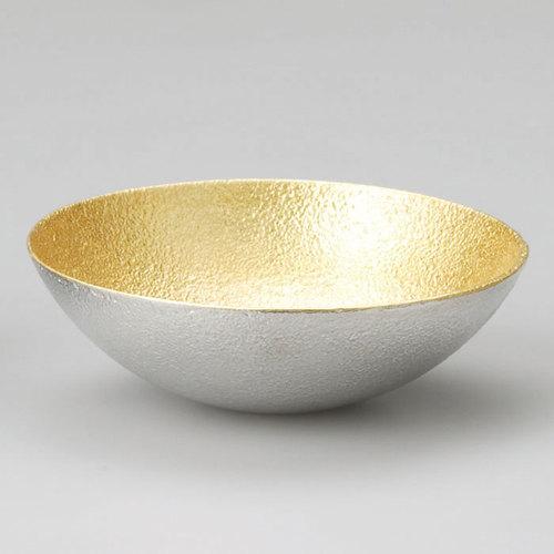能作|純錫金箔調味盤(M)
