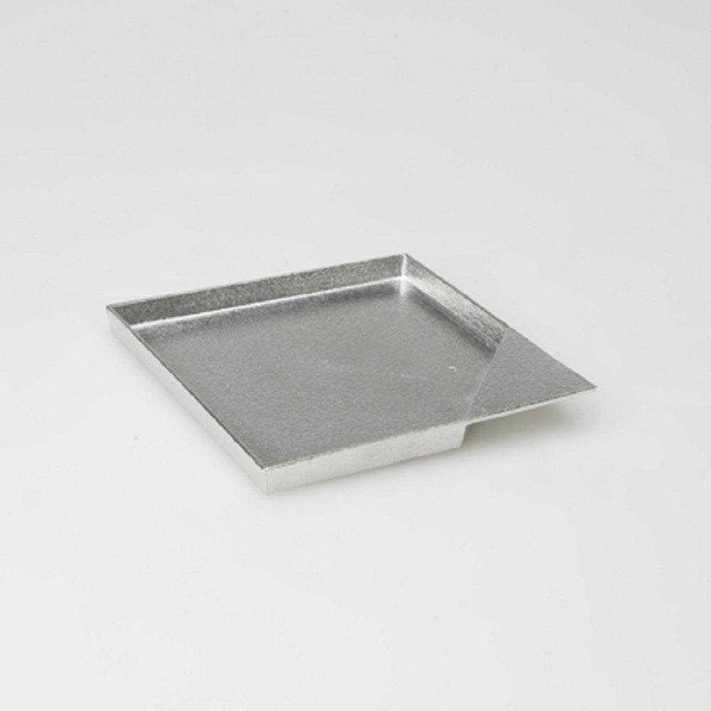 能作|純錫點心盤(方形 L)