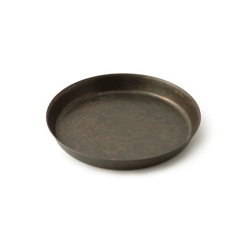 折井 Orii|tone圓滿銅彩盤-黑銅(S)
