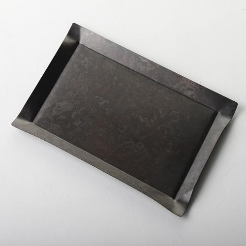 折井 Orii|tone四方銅彩盤-黑銅(S)
