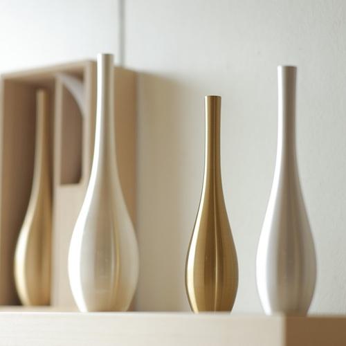 能作|黃銅花瓶(L)