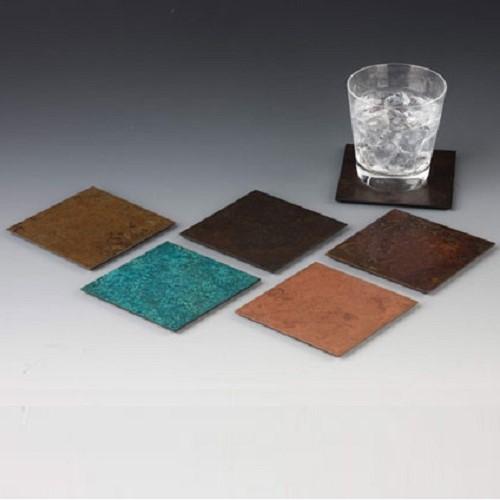 折井 Orii|銅彩杯墊組-(5入)